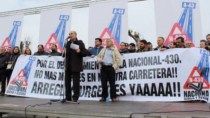 Intervención del alcalde de Piedrabuena (Ciudad Real)