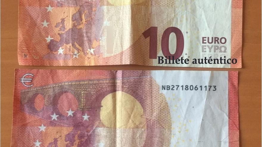 La Guardia Civil investiga la aparición de billetes falsos de 10 euros en Castro Urdiales