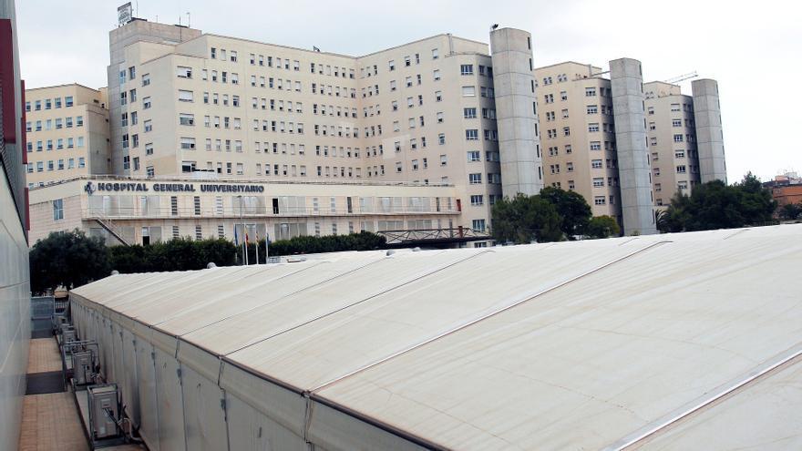 El Hospital General de Alicante: resiste la presión durante la segunda ola