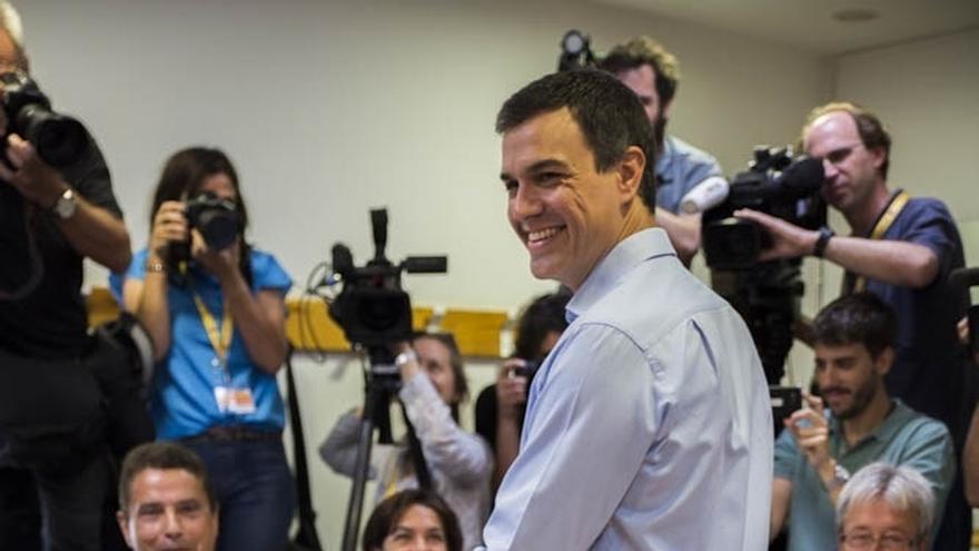 """Sánchez anima a la participación masiva para que el próximo Gobierno """"cuente con la máxima legitimidad posible"""""""