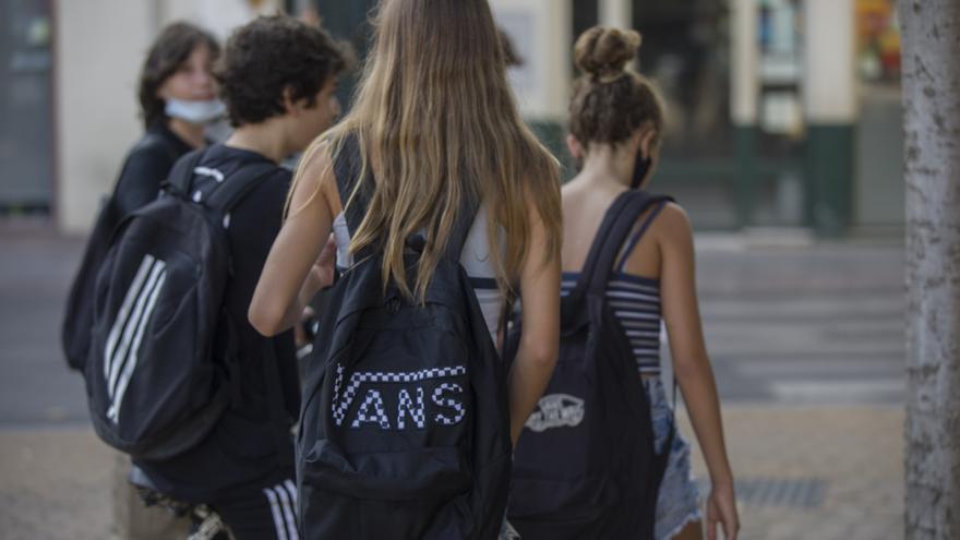 Alumnos de un instituto