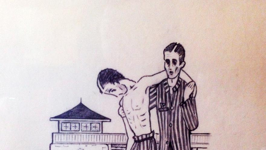 Uno de los dibujos de Pajarito.
