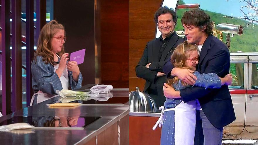 """La carta de Jordi Cruz a Henar en 'MasterChef Junior 8': """"¿Me prometes que siempre confiarás en ti?"""""""