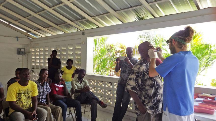 Dentistas sin fronteras en haiti