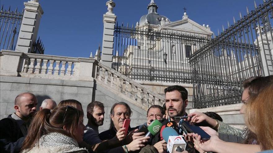 """Garzón quiere un Estado en el que """"ningún euro público"""" financie a la Iglesia"""