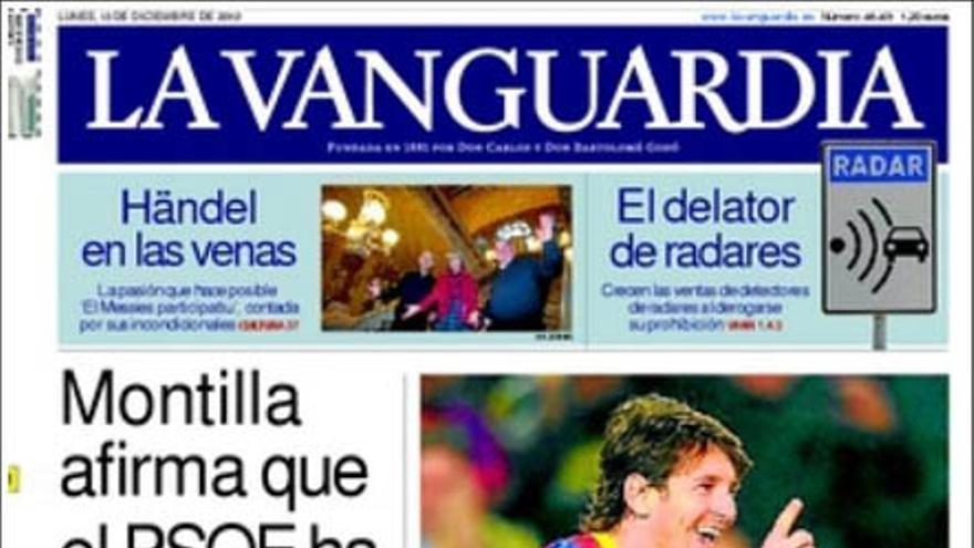 De las portadas del día (13/12/2010) #8
