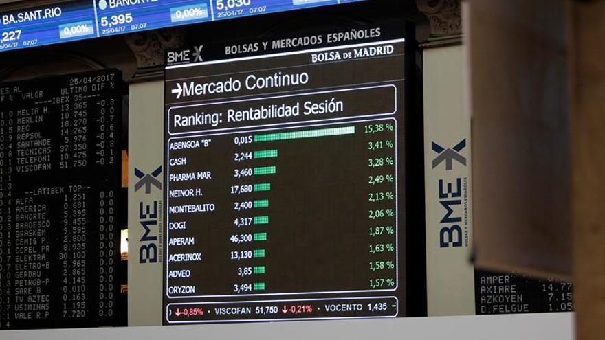 La banca española gana 9.500 millones en bolsa tras las elecciones de Francia