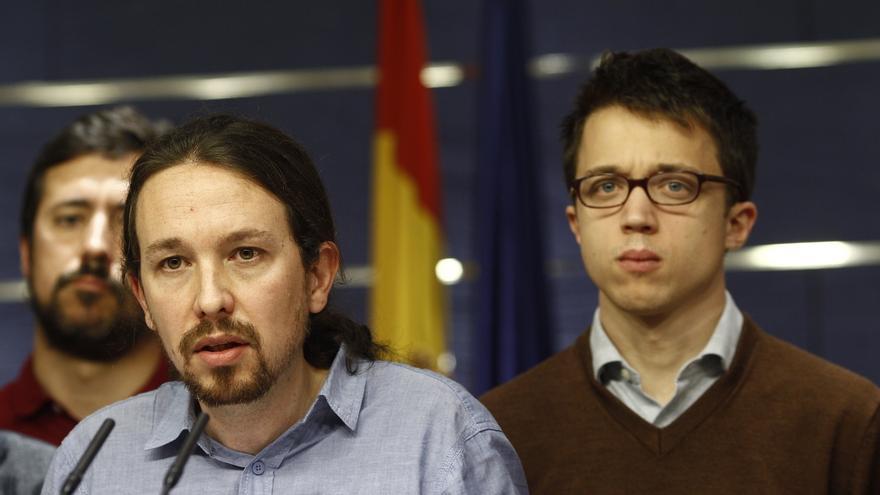 """Pablo Iglesias pide """"prudencia"""" y defiende que Podemos """"está en disposición de intentar ganar las elecciones"""""""