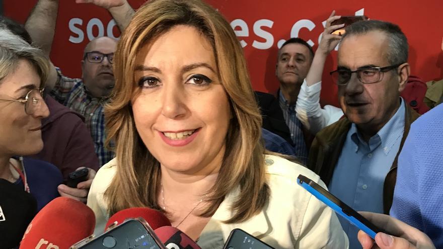 """Susana Díaz pide que anuncie su """"disolución definitiva"""" junto a la entrega de armas"""