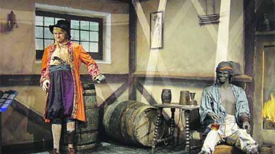 Imagen de la exposición 'Piratas, los ladrones del mar'