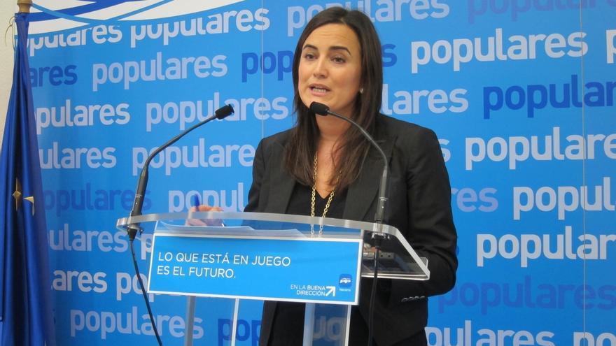 "Cristina Sanz exige a Barkos que ""pida disculpas al PPN por las palabras de Koldo Martínez"""