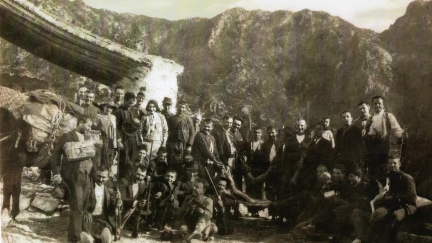 Imagen antigua de El Acebuchal.
