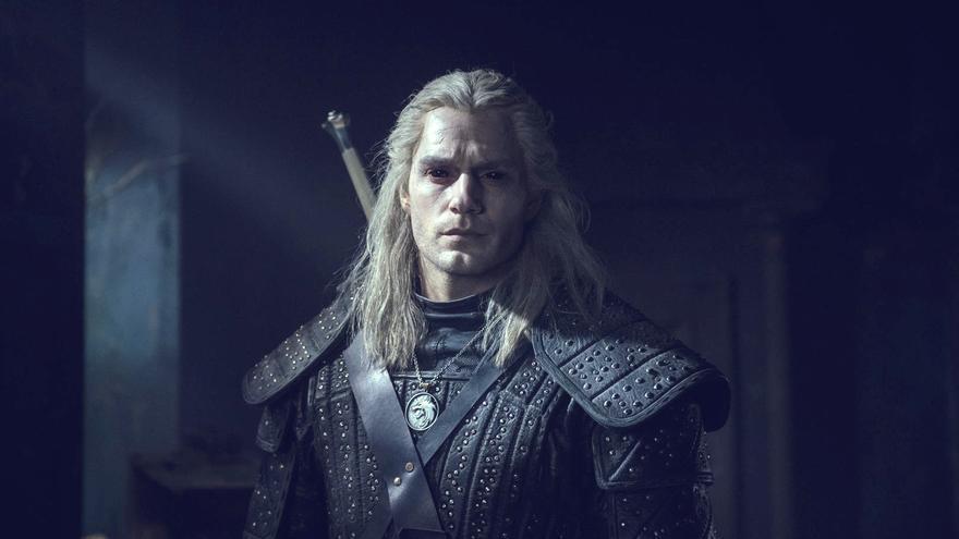 El protagonista de 'The Witcher', en una escena de la serie
