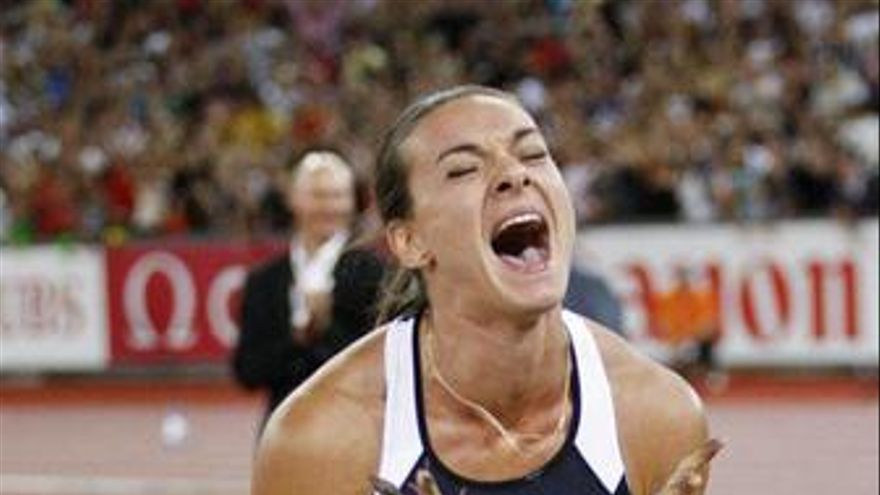 La atleta rusa Yeleva Isinbayeva