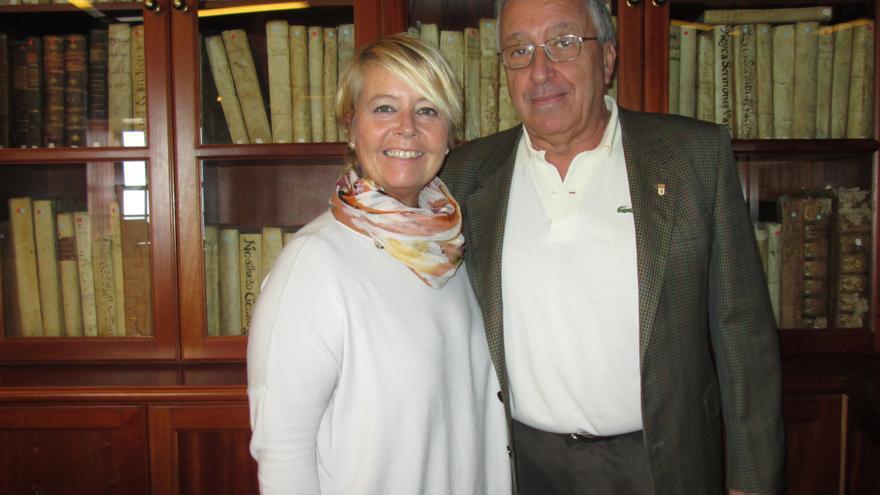 Rosa Aguado y Carlos Lugo están al frente de La Cosmológica. Foto: LUZ RODRÍGUEZ