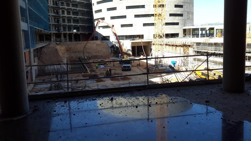 Obras en el nuevo Hospital de Toledo