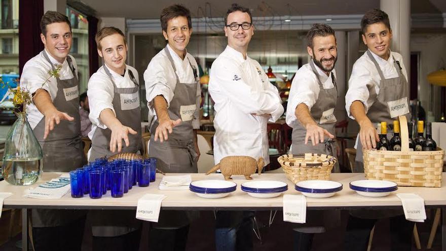 Equipo restaurante Al Trapo, Madrid
