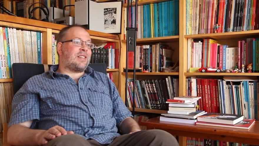 Bernardo Vergara en el documental 'Libertad de Impresión'