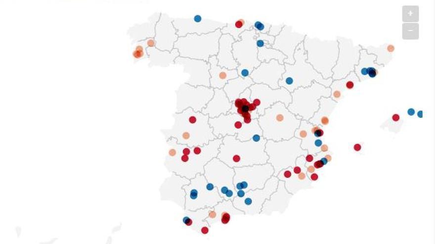 Mapa servicios sociales
