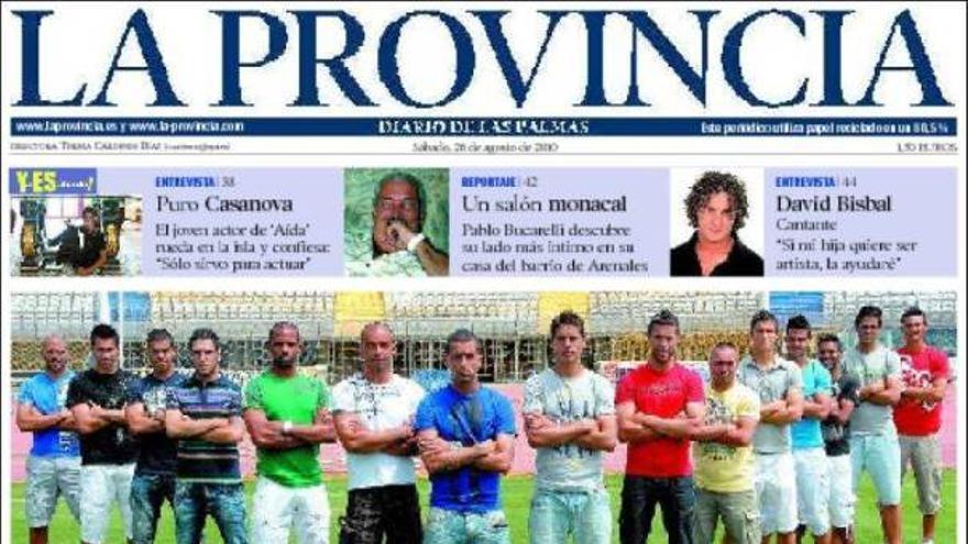 De las portadas del día (28/08/2010) #1