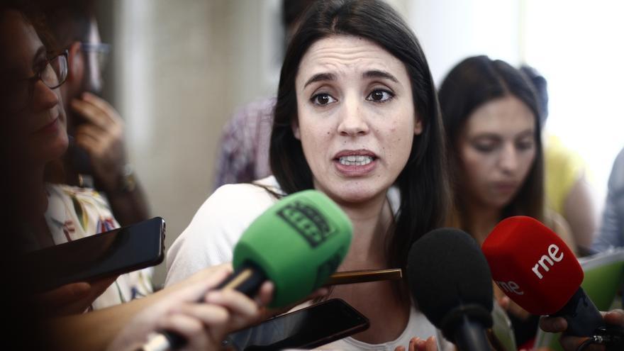 Irene Montero exige a Sánchez una rectificación por decir que Pablo Iglesias no defiende la democracia