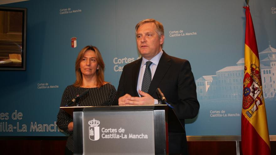 Ana Guarinos y Francisco Cañizares FOTO: PP CLM