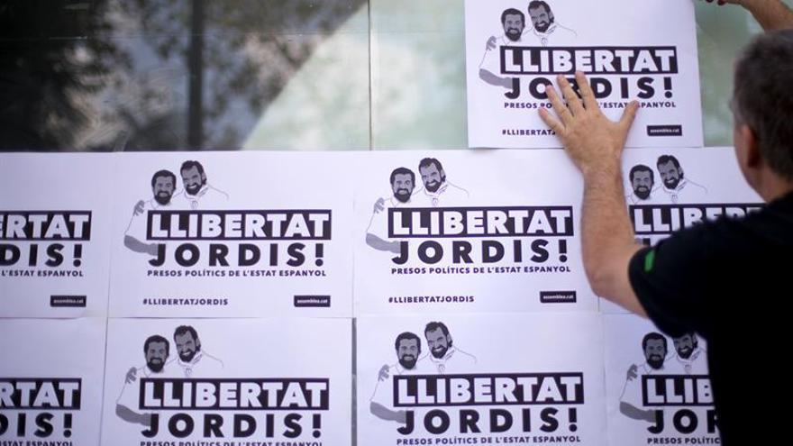 La Audiencia Nacional estudia mañana la prisión de Sánchez y Cuixart
