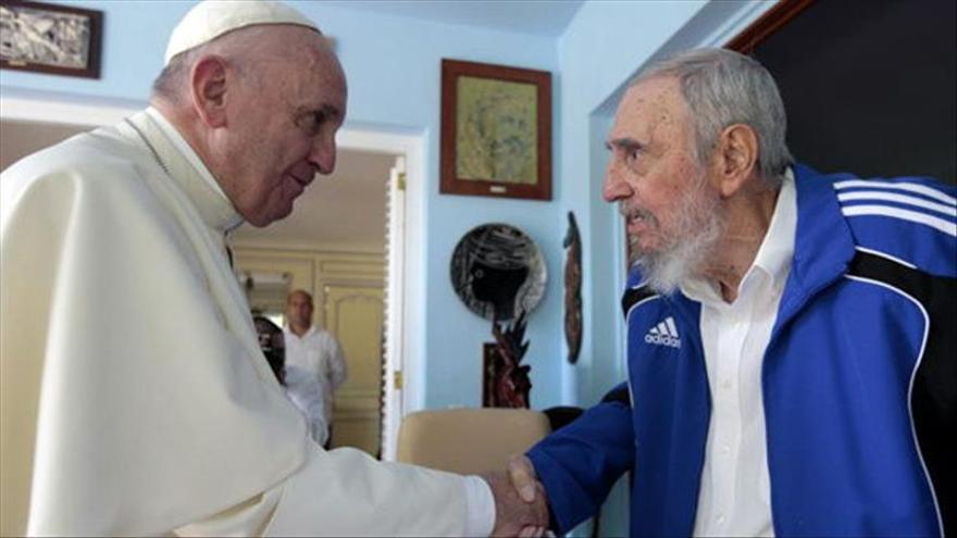 El Papa se reúne en La Habana con los hermanos Castro por separado
