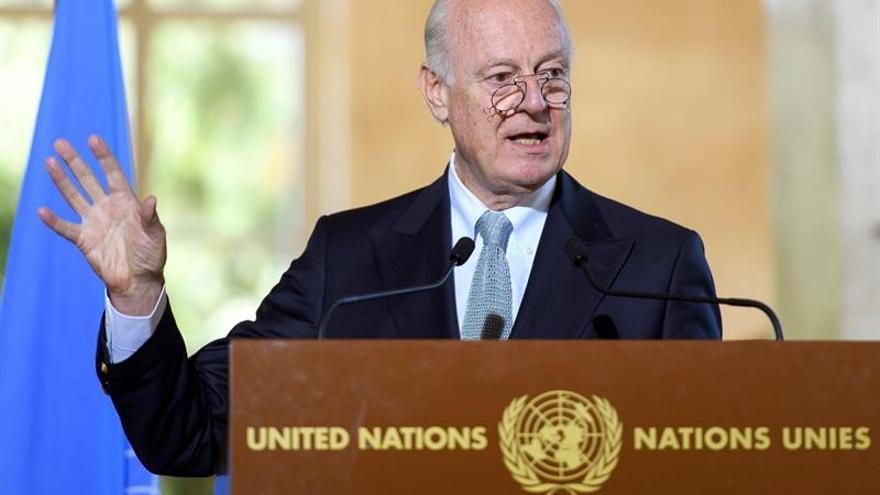 El enviado de ONU para Siria anuncia nuevas negociaciones en febrero en Ginebra