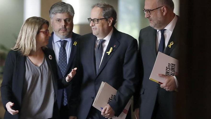 """JxCat erige a Torra como la respuesta sin renuncias a 40 años """"de no a todo"""""""