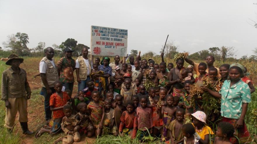 La Fundación Albihar contribuye a garantizar la seguridad alimentaria de familias refugiadas en el norte de la República Democrática del Congo / AACID