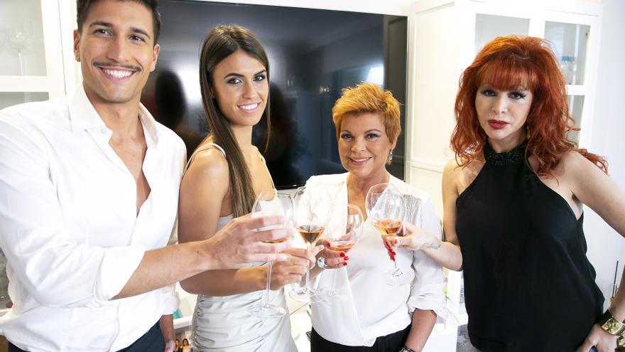 Gianmarco, Sofía, Terelu y Yurena, en la nueva entrega de 'Ven a cenar conmigo: Gourmet edition'