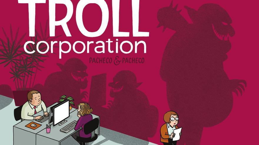 'Troll Corporation', el nuevo cómic de las hermanas Laura y Carmen Pacheco