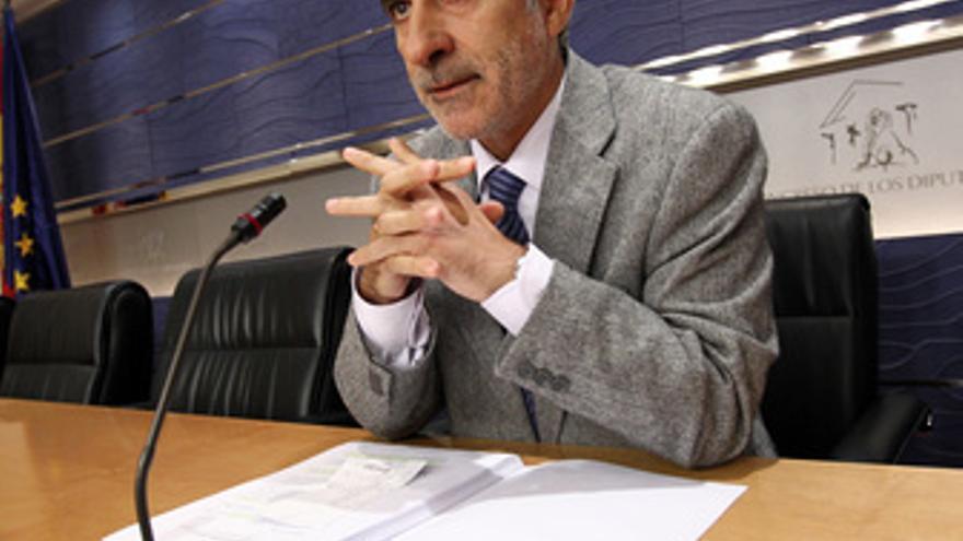 Gaspar Llamazarez, diputado de IU