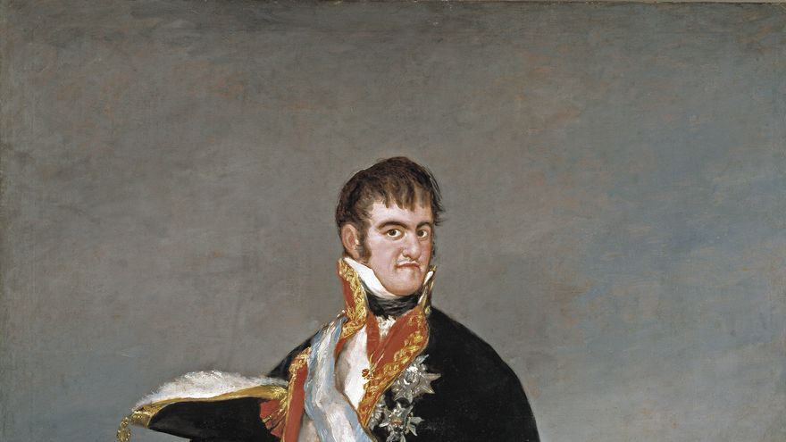 Fernando VII por Goya