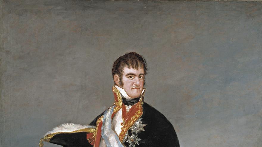 Fernando VII por Goya