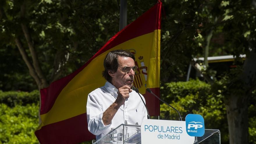 """Aznar afea al PP su comportamiento con Botella y recalca que deja """"un legado como nadie"""" que merece ser reconocido"""