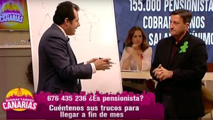 Captura de pantalla del programa 'Buenas tardes, Canarias' del 28 de diciembre de 2016