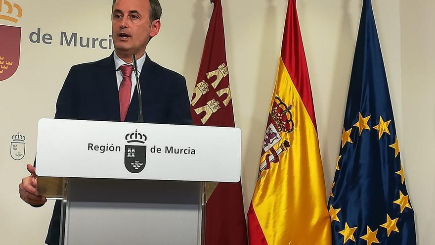 Javier Celdrán, consejero de Presidencia y Hacienda en la Región de Murcia / Miguel Ángel Santiago