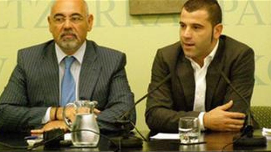 Antonio Pastor y Oscar Rodríguez, del PSE