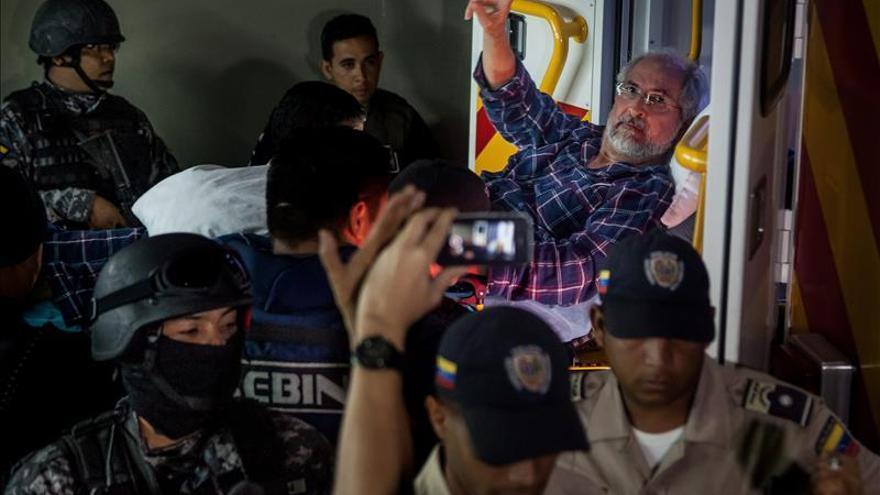 Difieren las audiencias de Ledezma y Rosales en Venezuela sin dar razones