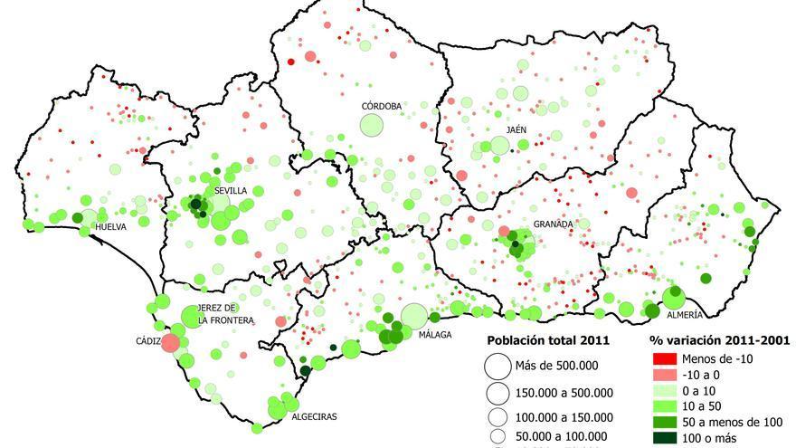 La Poblaci 243 N Andaluza En Eldiario Es Apuntes De Demograf 237 A