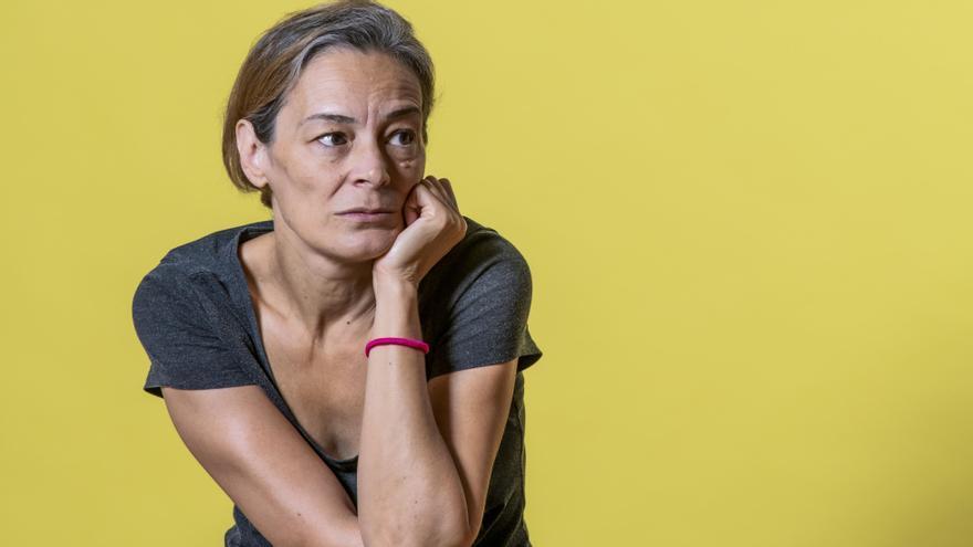 La escritora Esther García Llovet