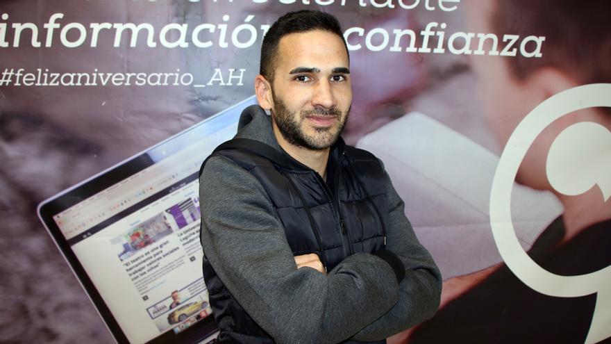 Rubén García, entrenador del Santa Úrsula.