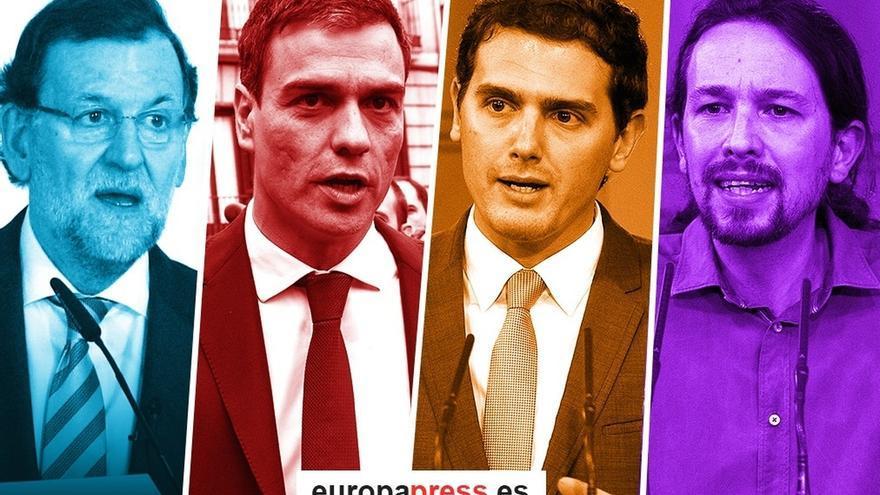 España celebra hoy sus decimoterceras elecciones de la democracia, con cuatro partidos en busca de Gobierno