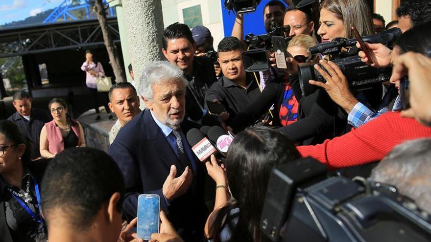 """Plácido Domingo en Honduras: """"No cesaré de tratar de ayudar allá donde pueda"""""""