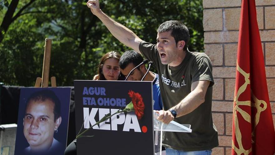 La izquierda abertzale despide al preso de ETA fallecido de un infarto