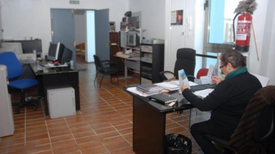 Instalaciones de la desparecida Radio Canal Telde.