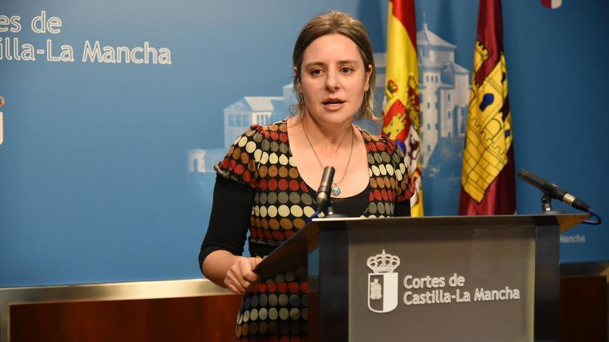 Araceli Martínez en las Cortes de Castilla-La Mancha