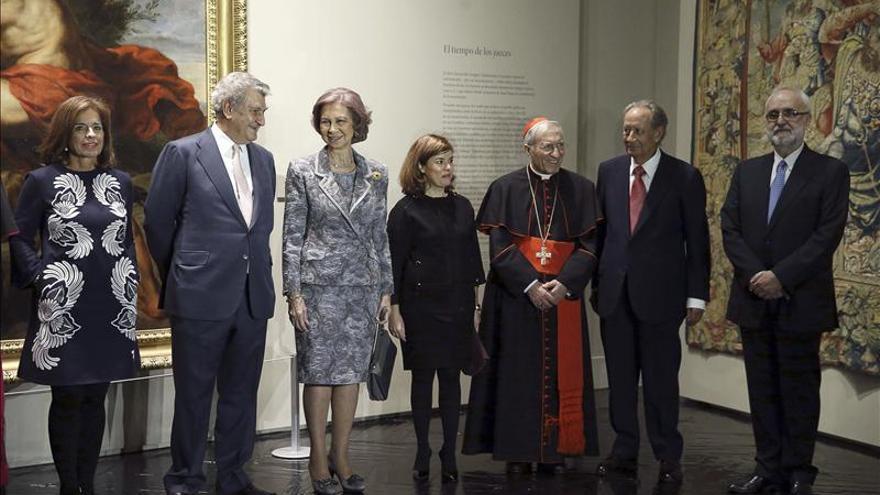 La Reina Sofía inaugura una gran exposición sobre arte eclesiástico
